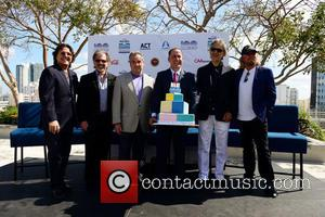 Rudy Perez, Bruce Orosz, James Allen, Philip Levine, Andrea Bocelli and Barry Gibb