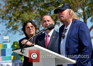 Rudy Perez, Philip Levine and Barry Gibb