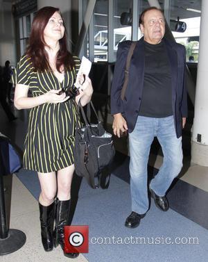 Paul Sorvino and Dee Dee Benkie - Goodfellas star, Paul Sorvino with his wife Dee Dee Benkie depart Los Angeles...