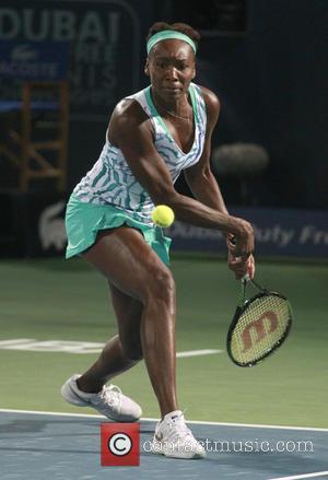 Venus Williams - Dubai Duty Free Tennis Championships - Venus Williams vs. Belinda Bencic at Olympia Hall - Dubai, United...