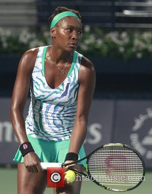 Venus Williams - Dubai Duty Free Tennis Championships - Venus Williams vs. Belinda Bencic at Olympia Hall - Dubai, United...