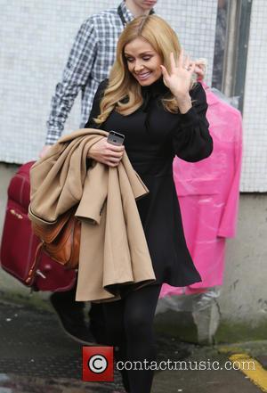 Katherine Jenkins - Katherine Jenkins outside ITV Studios - London, United Kingdom - Monday 16th February 2015