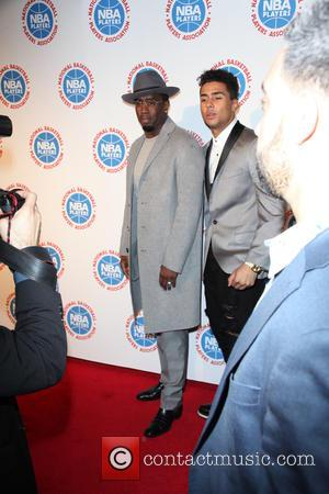 Sean Combs and Quincy Brown - The National Basketball Players Association's Exclusive 2015 All-Star Players' Social Event Presented By BET...