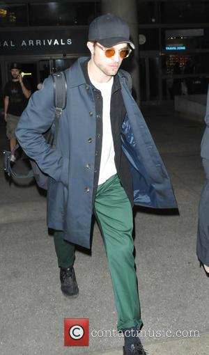 British film actor and star of the Twilight series of films, Robert Pattinson was spotted as he arrived in to...