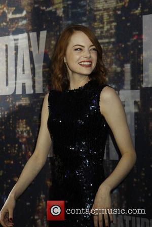 emma stone - Saturday Night Live 40th Anniversary - Arrivals at Saturday Night Live - New York, New York, United...