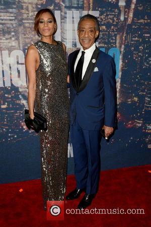 Kathy Jordan and Al Sharpton