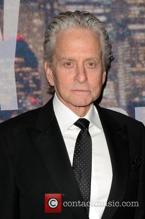 Michael Douglas - A host of stars including previous cast members were snapped as they arrived  to the Rockerfeller...