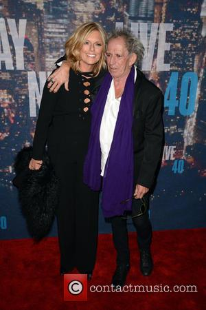 Patti Hansen and Keith Richards - A host of stars including previous cast members were snapped as they arrived...