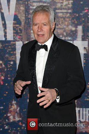 Alex Trebek - A host of stars including previous cast members were snapped as they arrived  to the Rockerfeller...