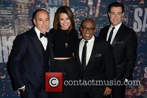 Matt Lauer, Savannah Guthrie, Al Roker and Carson Daly - A host of stars including previous cast members were snapped...