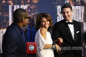 Eddie Murphy and Sarah Palin - SATURDAY NIGHT LIVE 40TH Anniversary Special - Red Carpet Arrivals - Manhattan, New York,...