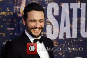 James Franco - SATURDAY NIGHT LIVE 40TH Anniversary Special - Red Carpet Arrivals - Manhattan, New York, United States -...