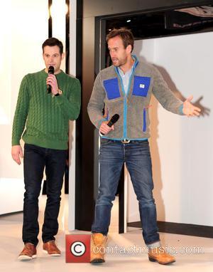 Matt Baker and Ben Fogle