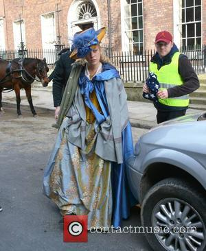 Chloe Sevigny - Actresses Chloe Sevigny and Kate Beckinsale on the set of 'Love And Friendship' filming in Dublin -...