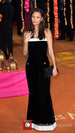 Thandie Newton - Premiere of 'The Second Best Exotic Marigold Hotel' - Arrivals at Leicester Square - London, United Kingdom...