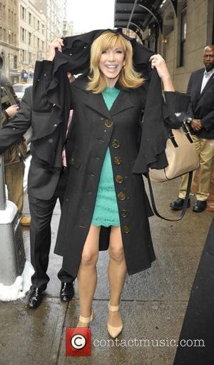 Leeza Gibbons - Leeza Gibbons leaving 'The Wendy Williams Show' - Manhattan, New York, United States - Tuesday 17th February...