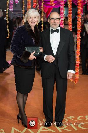 David Suchet and Guest - A host of stars were photographed as they attended the UK premiere of 'The Second...