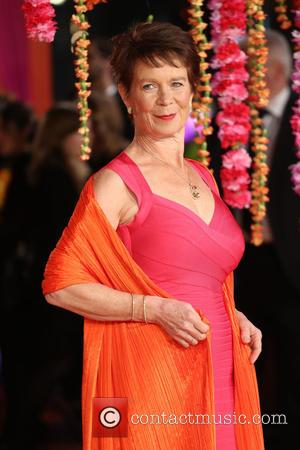 Celia Imrie - The Second Best Exotic Marigold Hotel premiere - Arrivals - London, United Kingdom - Tuesday 17th February...