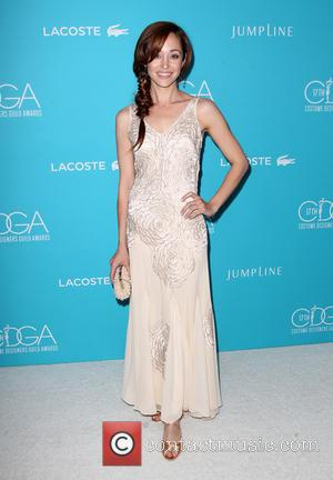Autumn Reeser - Shots of a variety of stars as they arrived for the 17th Costume Designers Guild Awards which...