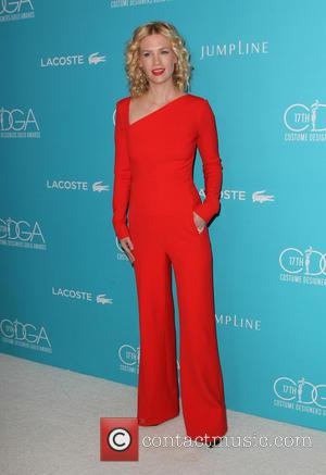 January Jones - Shots of a variety of stars as they arrived for the 17th Costume Designers Guild Awards which...