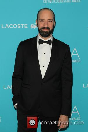 Tony Hale - Shots of a variety of stars as they arrived for the 17th Costume Designers Guild Awards which...
