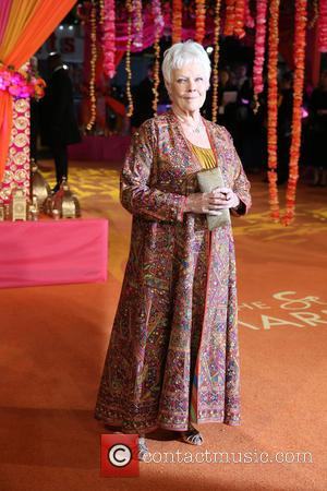 Dame Judi Dench - 'The Second Best Exotic Marigold Hotel' Premiere - Arrivals - London, United Kingdom - Tuesday 17th...