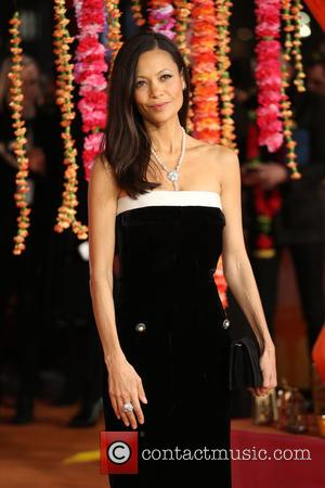 Thandie Newton - 'The Second Best Exotic Marigold Hotel' Premiere - Arrivals - London, United Kingdom - Tuesday 17th February...