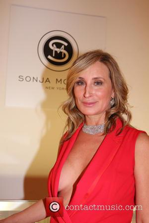 Sonja Morgan - Mercedes-Benz New York Fashion Week - Sonja Morgan's New York Brands Launch Event - Bravo Taping at...