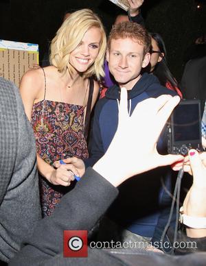 Brooklyn Decker - Vanity Fair pre-Oscar party 2015 - Los Angeles, California, United States - Tuesday 17th February 2015