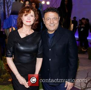 Susan Sarandon - Mercedes-Benz Fashion Week New York Fall/Winter 2015 - Elie Tahari - Presentation - New York City, New...