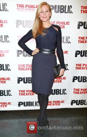 Jennifer Westfeldt - Opening night of the Alexander Hamilton bio-musical Hamilton, at the Public Theater - Arrivals. at Public Theater,...