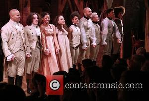 Christopher Jackson, Anthony Ramos, Renee Elise Goldsberry, Stephanie Klemons, Ariana Debose and Cast