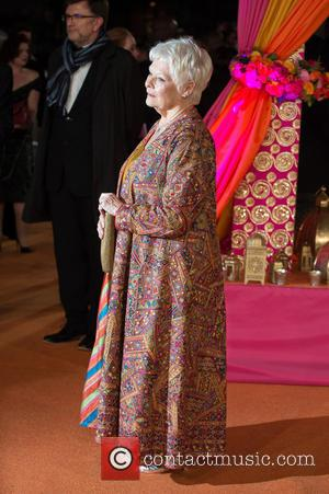 Dame Judi Dench - A host of stars were photographed as they attended the UK premiere of 'The Second Best...