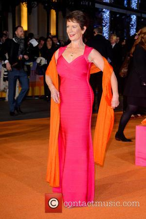Celia Imrie - A host of stars were photographed as they attended the UK premiere of 'The Second Best Exotic...
