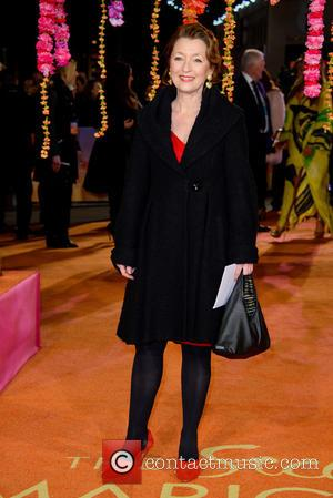Lesley Manville - A host of stars were photographed as they attended the UK premiere of 'The Second Best Exotic...