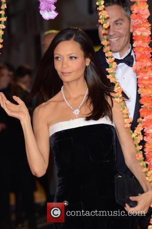 Thandie Newton © Joe Alvarez - A host of stars were photographed as they attended the UK premiere of 'The...