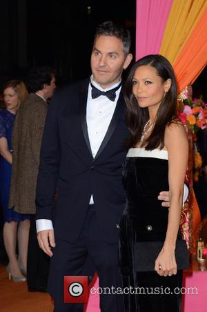 Thandie Newton and partner - A host of stars were photographed as they attended the UK premiere of 'The Second...