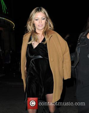 Abbey Clancy - The NME Awards at O2 Brixton Academy - Departures at The NME Awards, Brixton Academy - London,...