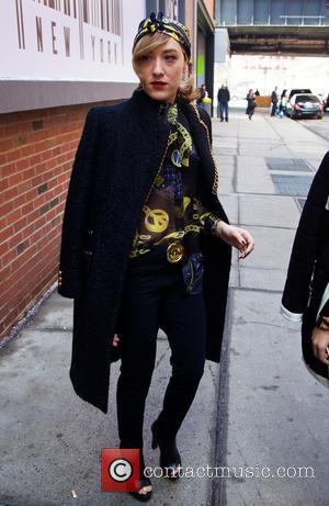 Mia Moretti - Mercedes-Benz New York Fashion Week - Jeremy Scott Fashion - Outside Arrivals at New York Fashion Week...