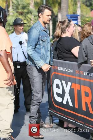 Josh Duhamel - Josh Duhamel and Dean Winter seen at Universal Studios where they were interviewed by Charissa Thompson for...