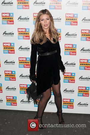 Abbey Clancy - NME Awards held at the Brixton Academy - Arrivals. at Brixton Academy - London, United Kingdom -...