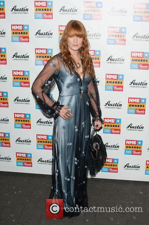 Florence Welch - NME Awards held at the Brixton Academy - Arrivals. at Brixton Academy - London, United Kingdom -...