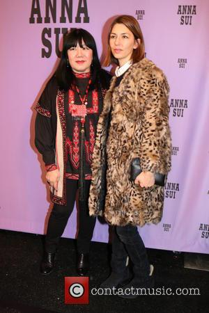 Anna Sui and Sofia Coppola