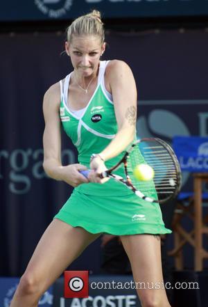 Karolina Pliskova - Dubai Duty Free Tennis Championships - Ana Ivanovic vs. Karolina Pliskova - Dubai, United Emirates - Wednesday...