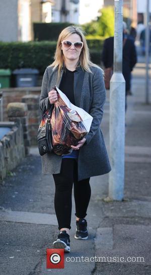 Jo Joyner - The cast of 'Eastenders' the outside BBC Studios - London, United Kingdom - Wednesday 18th February 2015