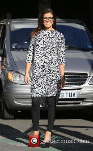 Kym Marsh - Kym Marsh outside the ITV Studios - London, United Kingdom - Wednesday 18th February 2015