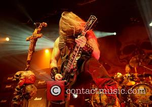 Shots of rock star Zakk Wylde and Black Label Society as they performed live in concert at the Manchester Academy...