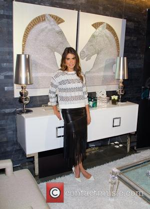 Nikki Reed - Nikki Reed joins interior designer Nate Berkus for launch of Unstopables home products at Maison 24 in...