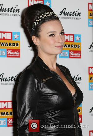 Gizzi Erskine - A variety of stars were photographed as they arrived at the 2015 NME Awards which were held...
