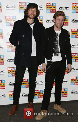 Simon Rix and Ricky Wilson - A variety of stars were photographed as they arrived at the 2015 NME Awards...
